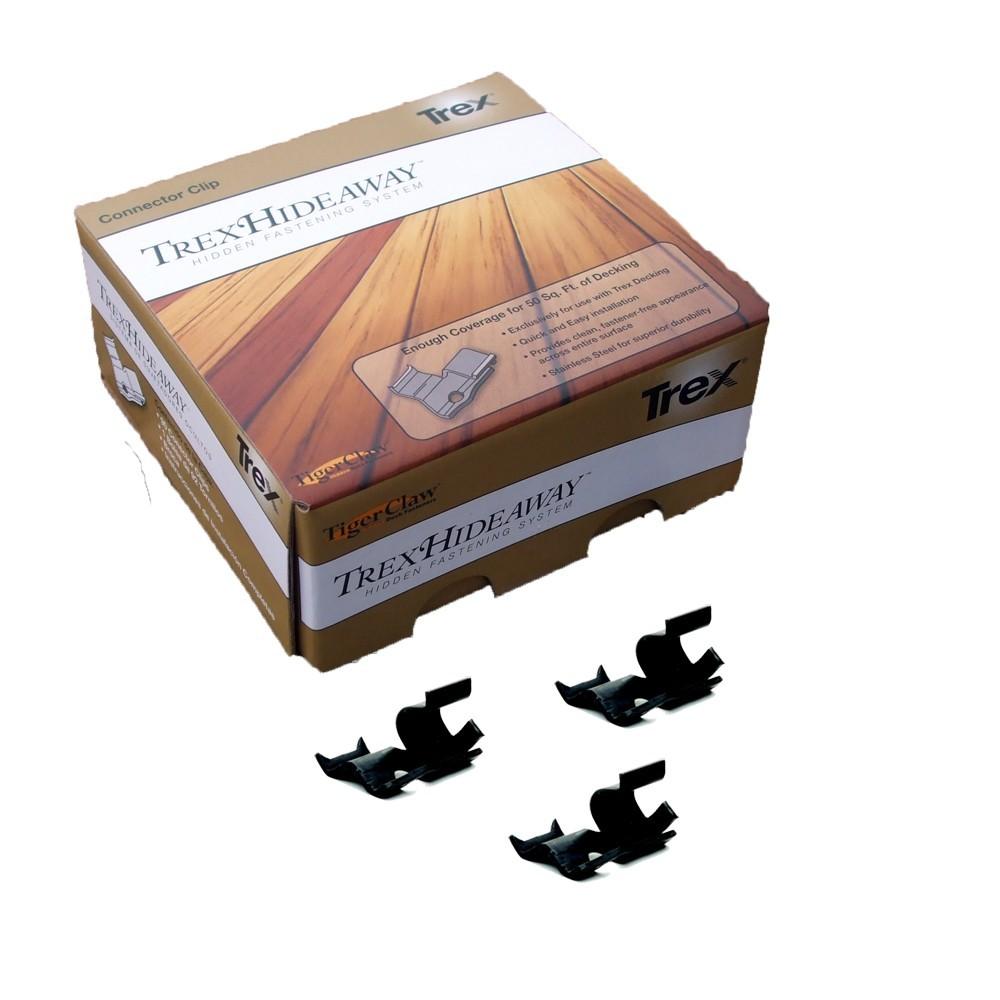 Trex Hideaway Hidden Fasteners Stainless 50 Sf Deck