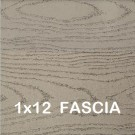 Azek Harvest 1 x 12 - 12'  Fascia BrownStone