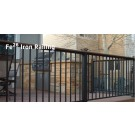 Fortress Fe26 Traditional Iron Rail Panel