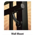 Westbury Continuous Handrail Wall Mount Textured Black