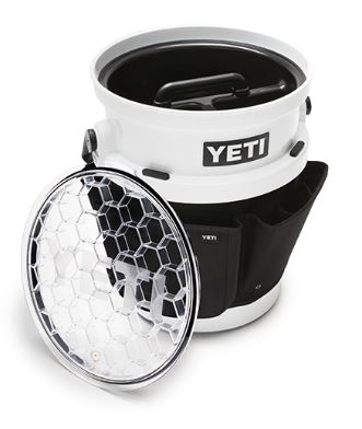 YETI Loadout Bucket with optional Utility Gear Belt, Lid, and Caddy