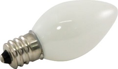 Ceramic Bulbs Availalbe in C7 and C9