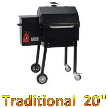 "Smokin Brothers Traditional 20"" Grill"