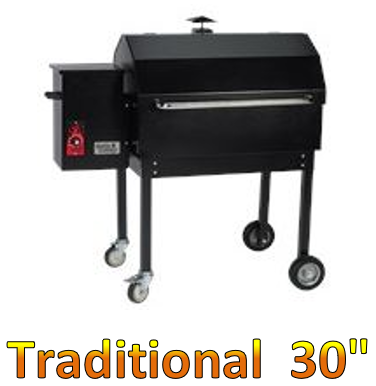 "Smokin Brothers Traditional 30"" Grill"