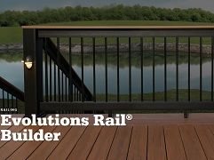 TimberTech Evolutions Builder Rail