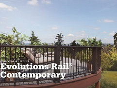 TimberTech Evolutions Contemporary Rail