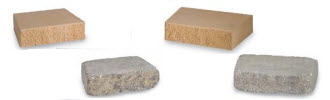 Versa-Lok Cap Landscaping Blocks: Standard and Weathered