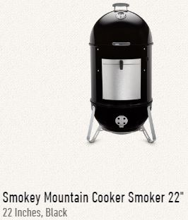 Weber Smokey Mountain 22
