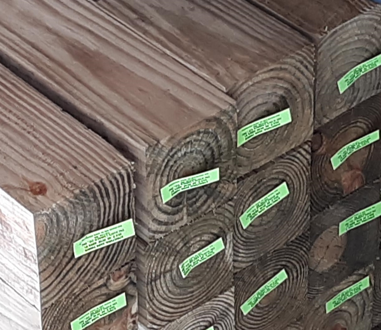 Wolmanized Treated Lumber