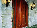 Andersen Arched Archtop Full Panel Sidelights Exterior Door