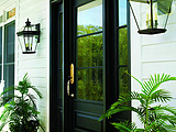 Andersen Rectangular Glass Panel Straightline Door Transom Sidelights Custom Grilles