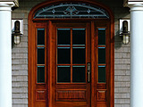 Andersen Rectangular Straightline Arts and Crafts Exterior Door