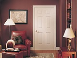 Jeld-Wen Smooth 6 Panel Door also known as Smooth Colonist Six Panel