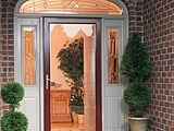 Larson Secure Elegance Collection Storm Door