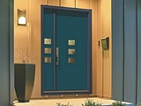 ThermaTru Pulse Large Stacked Exterior Door