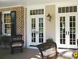Windsor Pinnacle In-swing Patio Doors with Transoms