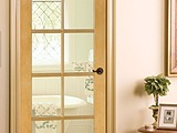 Woodgrain Ponderosa Pine 10 Lite French Door 625