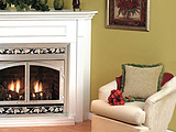 Empire EMBC-2S-C Corner Cabinet Gas Fireplace