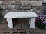 Patio Concrete Bench SKU H2839