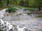 Versa-Lok Terraced Garden Walls and Steps Landscaping Blocks