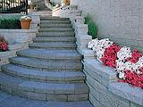 VersaLok Garden Walls and Stairs Landscaping Blocks