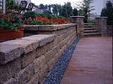 Versa-Lok Garden Wall and Steps Landscaping Blocks