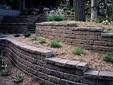 Versa-Lok Terraced Garden Retaining Walls Landscaping Blocks and Edging