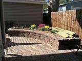 Versa-Lok Patio and Curved Garden Wall Landscaping Blocks