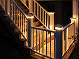 Deck Lighting At Night