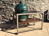 Challenger Spark with Big Green Egg