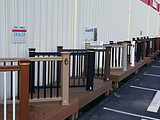decking railing lighting