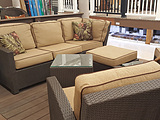 deck, patio, furniture