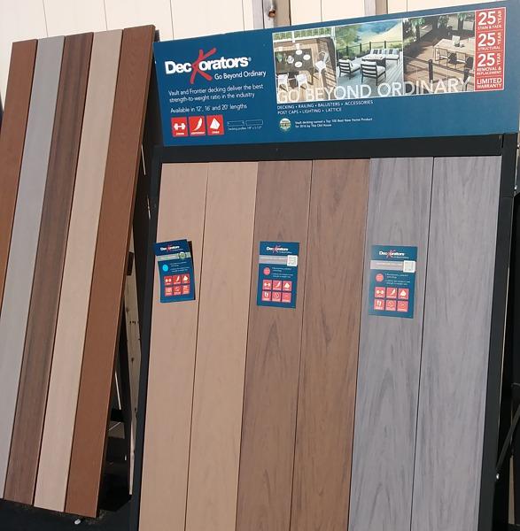 Flooring Materials Supplies : Decking materials supplies hackmann lumber