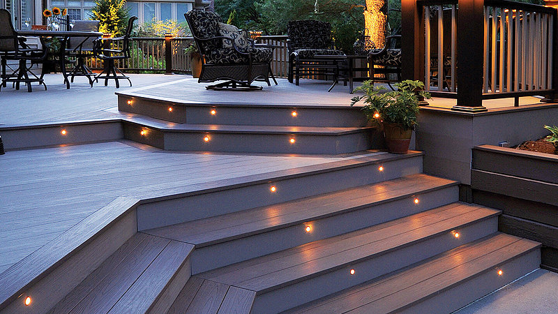 Deck Amp Patio Lighting St Louis Amp St Charles Hackmann